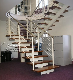 'Mervue' Floating Stairs