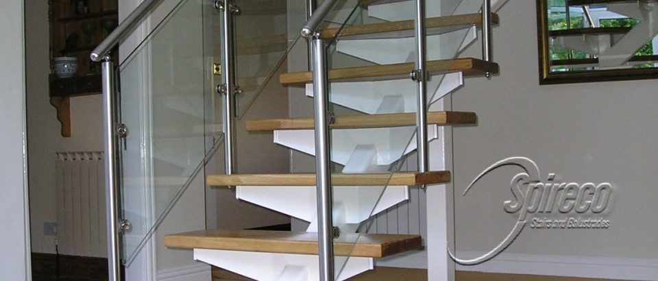 'Bat-Wing' Floating Stairs