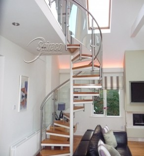 'Ballaly' Orbital Spiral Stairs