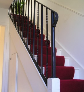 'Traditional' Wrought Iron Balustrade