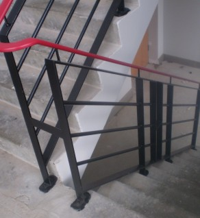 'Enfield' Steel Stair Guarding