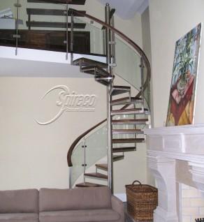 'Rathgar Rectangular Handrail' Spectral Spiral