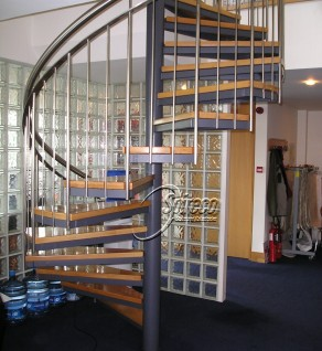 'C&C' Spiral Stairs