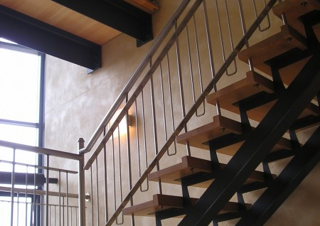 'C&C' Stairs and Gangway