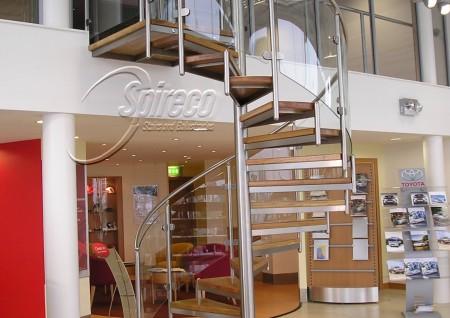 'Spectral' Spiral Stair