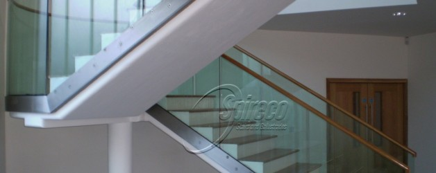 Spireco install state of the art stairs in Clasac Traditional Arts Center
