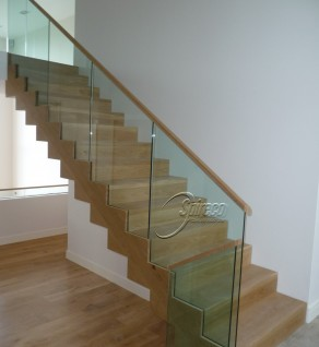 'Delgany' White Oak Stair