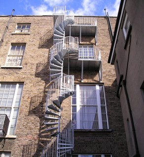 Fitzwilliam Square Spiral Escape Stair