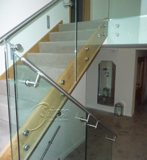 'Myra' Cantilever Glass Balustrade