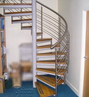 'Garville Viola' Spiral Stairs