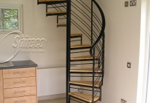 Attic Spiral Stairs