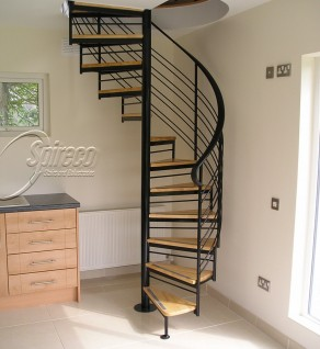 'Helix' style Spiral Stairs