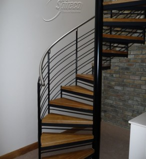 'Claremont' Helix with Stainless Steel Handrail