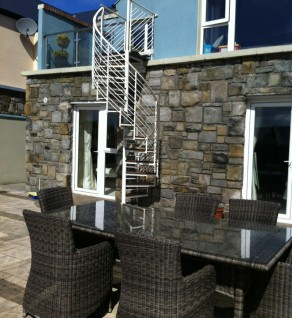 Powdercoated 'Helix' Spiral Stairs- Sligo