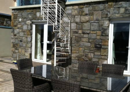 Powdercoated 'Helix' Spiral Stairs- Sligo