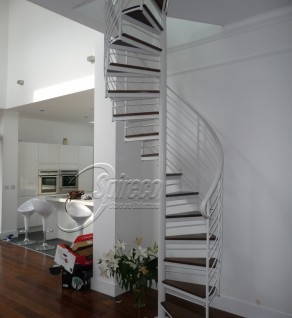 'Room to Improve' Helix Spiral Stairs