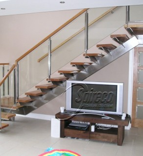 'Concorde' Stainless Steel Stairs
