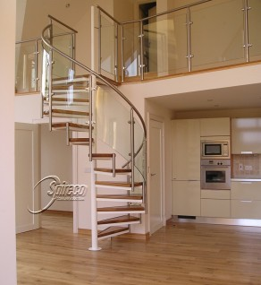 'Seafield Orbital' Spiral Stairs