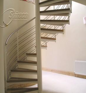 'Lissadell Slipstream' Spiral Stairs