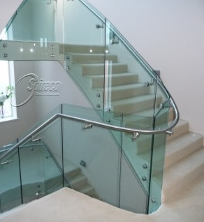 'Merrion' Cantilever Glass Balustrade