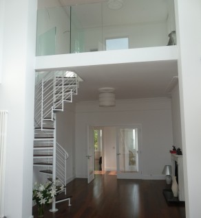 'Room to Improve' Glass Balustrade