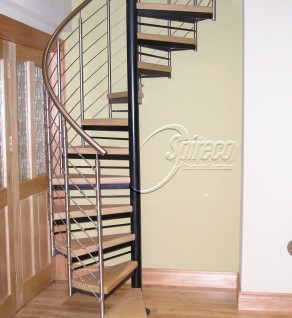 Stainless Wire Rope Spiral Stairs