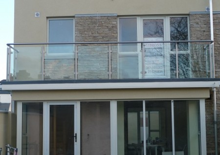 'Fairview' Stainless Steel & Glass Balustrade