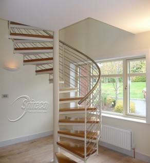 'Carrickmines Slipstream' Spiral Stairs