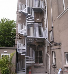 'Health Centre' Fire Escape