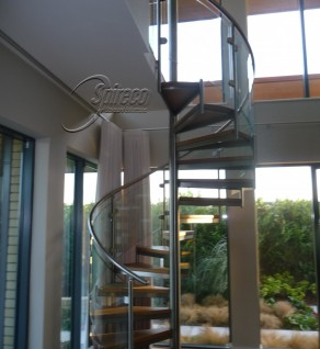 'Myra Spectral' Spiral Stairs