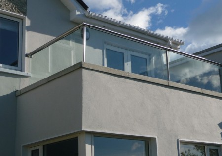 'St. Fintans' Glass Balustrade