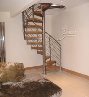 'Beech Flute' model Spiral Stairs