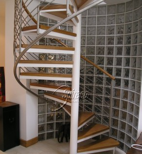 'Tradewinds' Stainless Slipstream Spiral Stairs