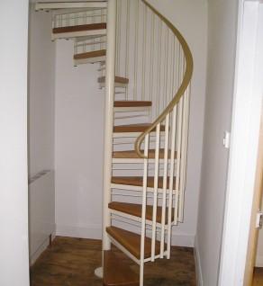 'Tubular' Spiral Stairs