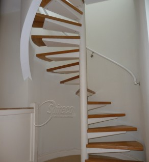'White Turret' Spiral Stairs