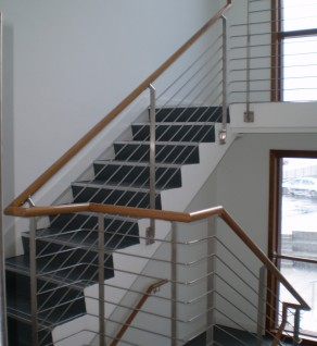 'Clasac' Stainless Steel Balustrades