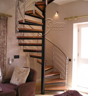 'Howth Lodge' Viola style Spiral Stairs