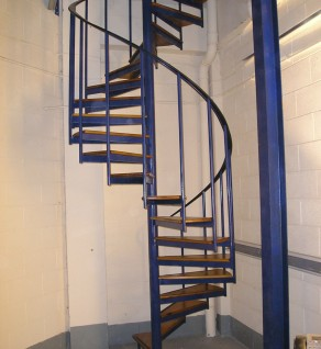 'Warehouse' Model Spiral Stairs
