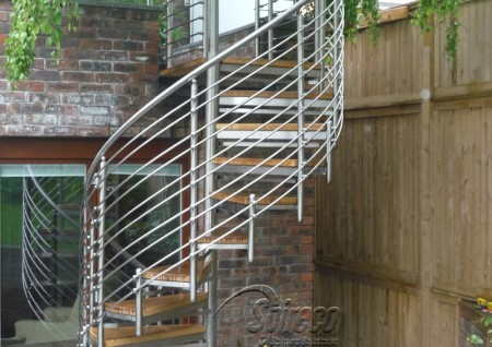 'Wellington Flute' Spiral Stairs