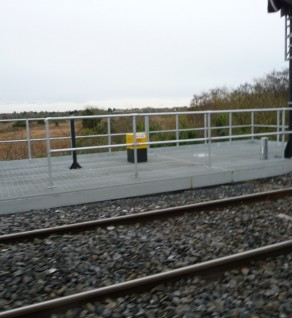 Irish Rail Track-Side Platforms