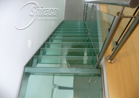 Glass Treaded Stainless Steel Stairs – Howth