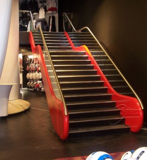 'Escalator' style Stairs at Dundrum Shopping Centre