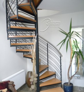 'St Fintans' Helix with Stainless Steel handrail