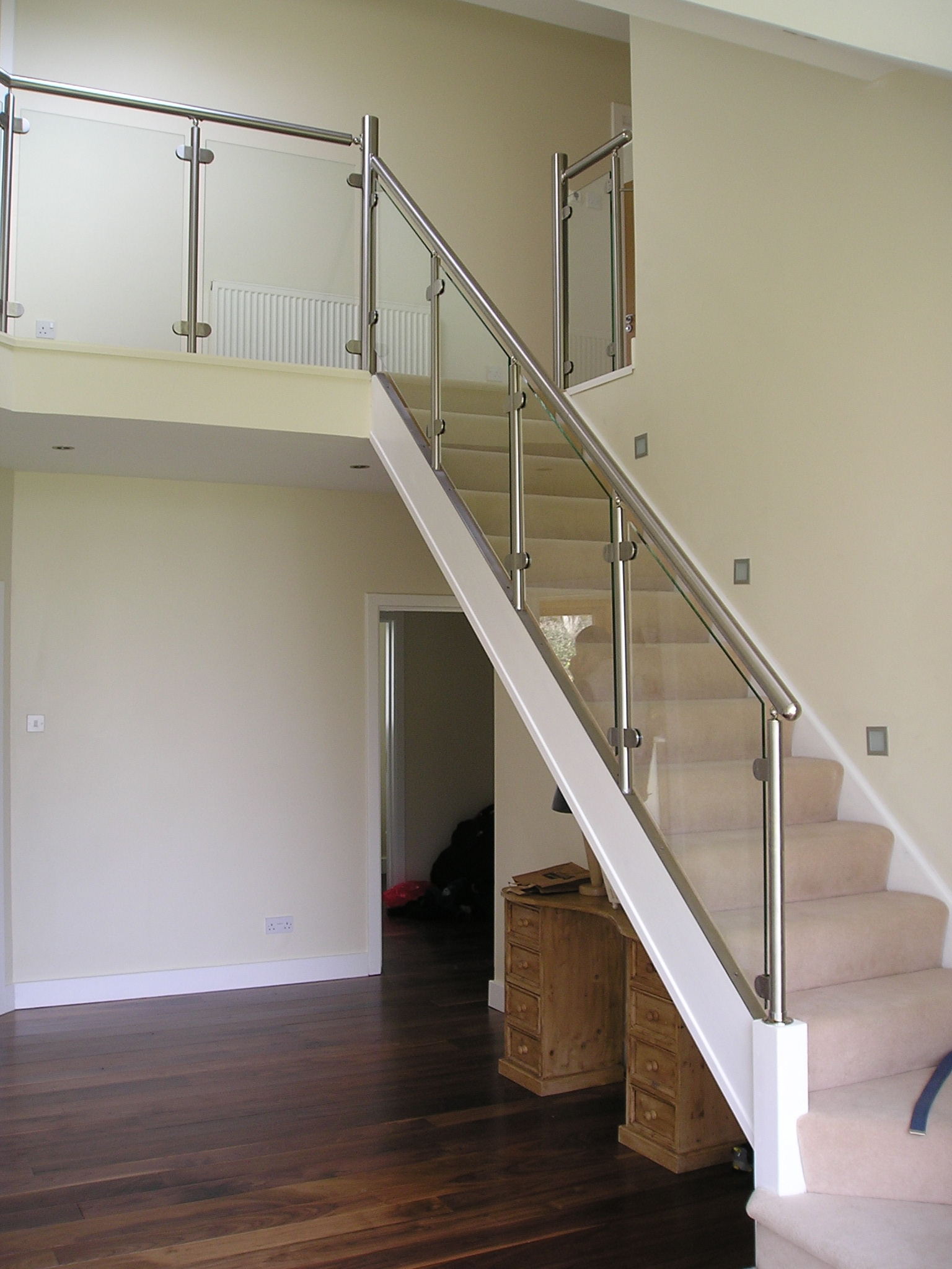 Clasac Stainless Steel Balustrades Spireco Spiral Stairs