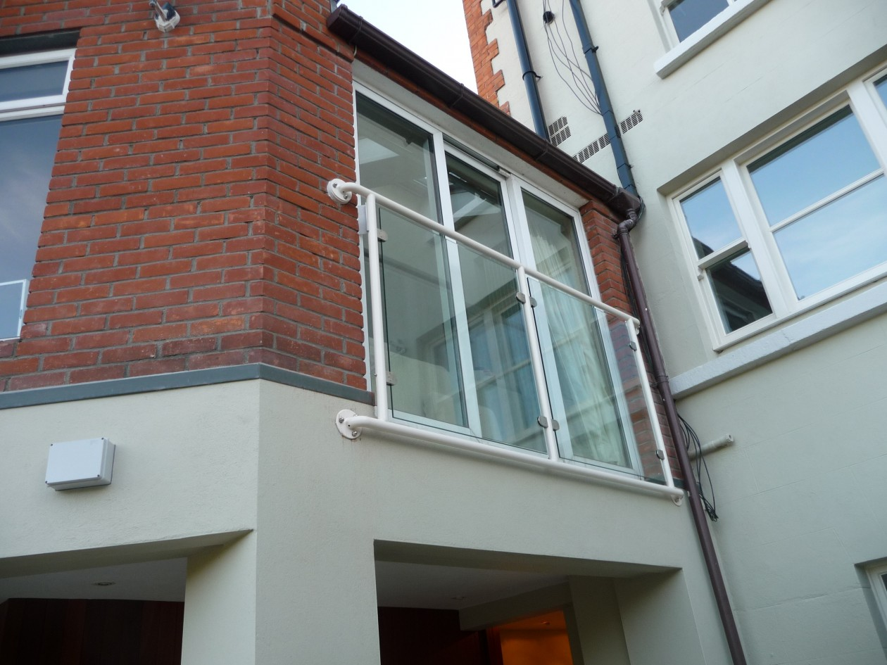 Canopies Amp Balconies Spireco Spiral Stairs