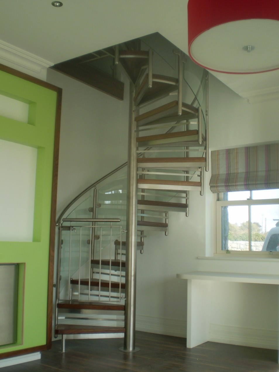 Bearna Stainless Steel Gate Spireco Spiral Stairs