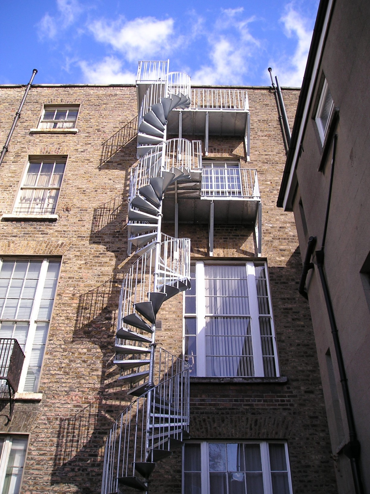 Fire Escapes Amp Industrial Spireco Spiral Stairs