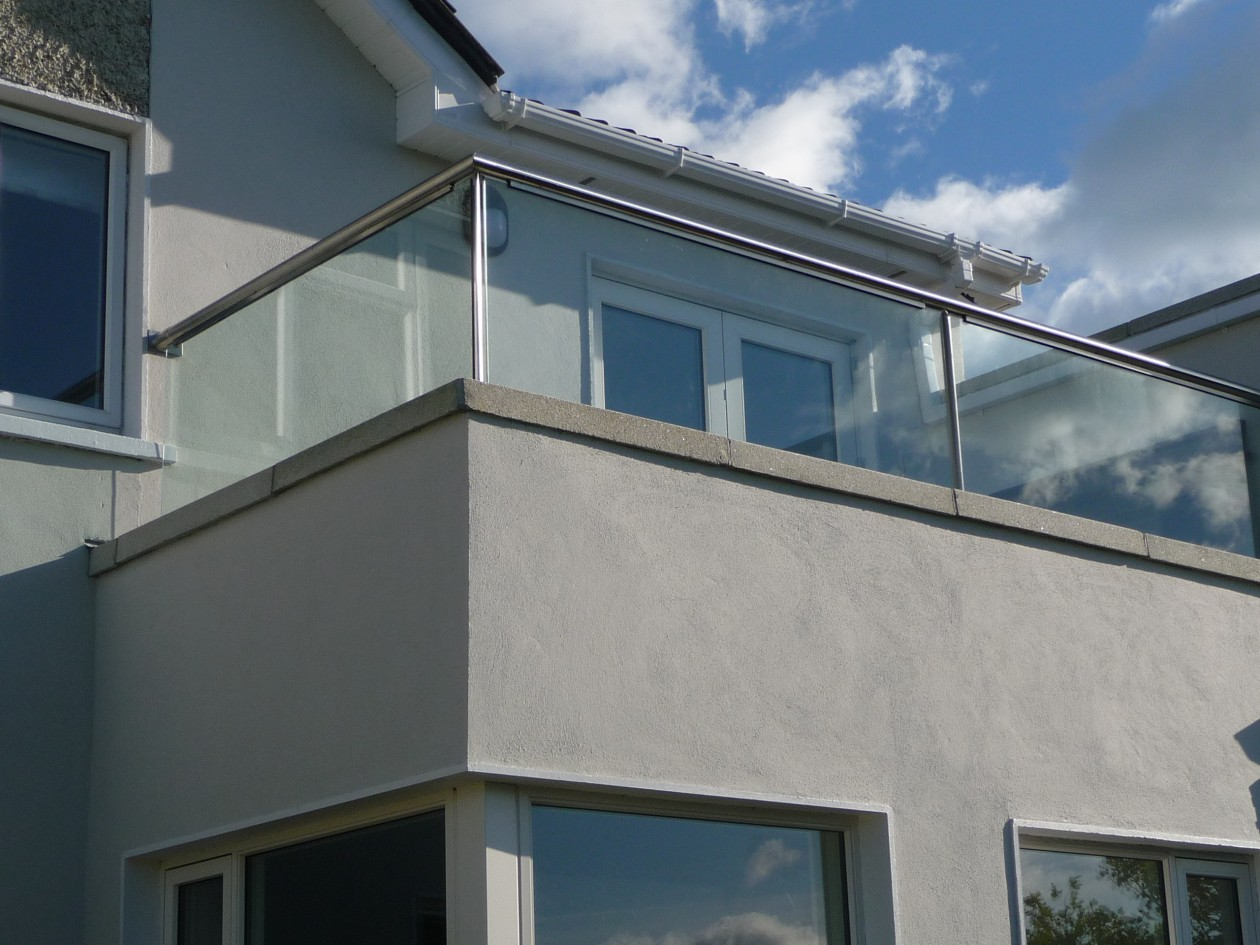Carrickbrack balcony balustrade spireco spiral stairs for Balcony balustrade