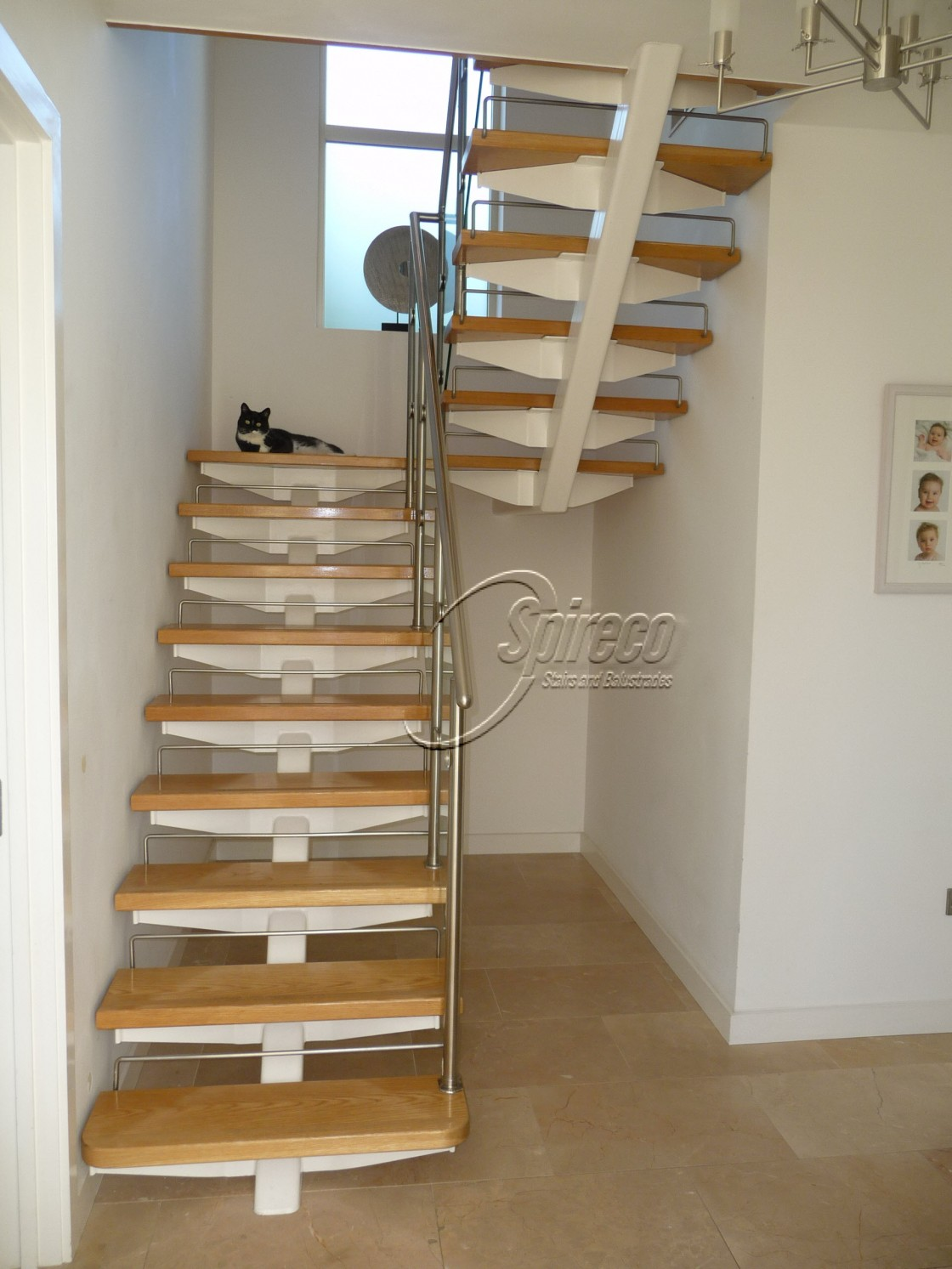 Floating Stairs Spireco Spiral Stairs