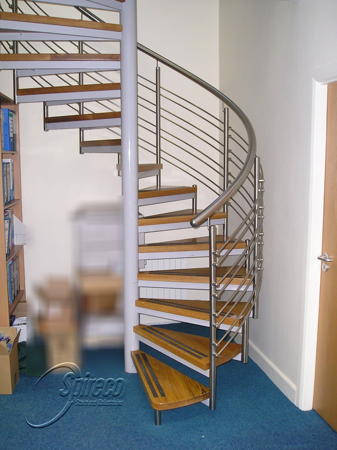 Commercial Spireco Spiral Stairs